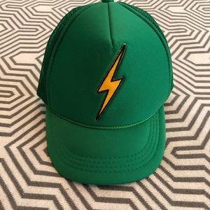 Aviator Nation Lightning Bolt Trucker Hat